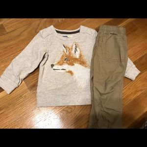 🦊 outfit size 18 months